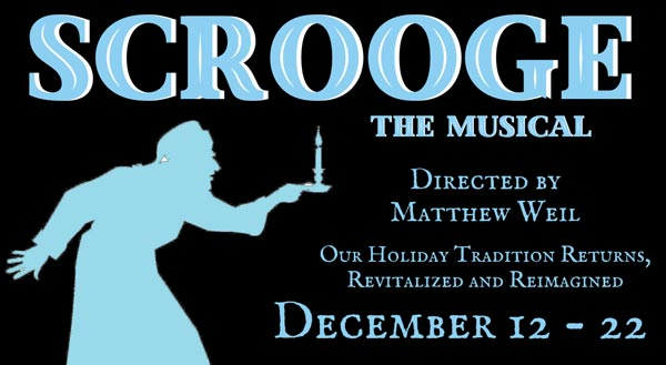 "Ritz Theatre Co. Presents ""Scrooge: The Musical"""