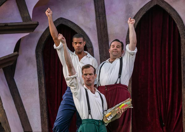 """PHOTOS from """"William Shakespeare's Long Lost First Play (abridged)"""