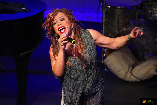 """We Love Her!"" Valerie Simpson LIVE! at HACPAC"