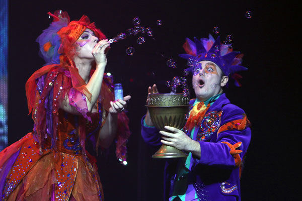 State Theatre New Jersey Presents B-The Underwater Bubble Show