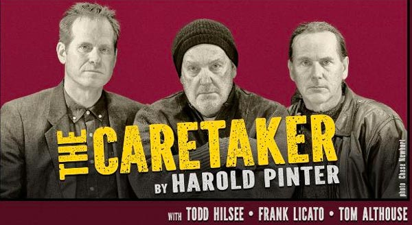 "Hudson Theatre Works presents ""The Caretaker"" by Harold Pinter"