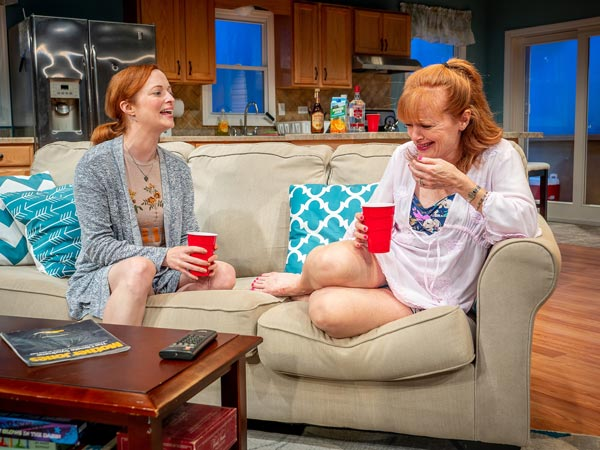 "Heavy subjects inspire a comedy in Tammy Ryan's ""The Wake"""