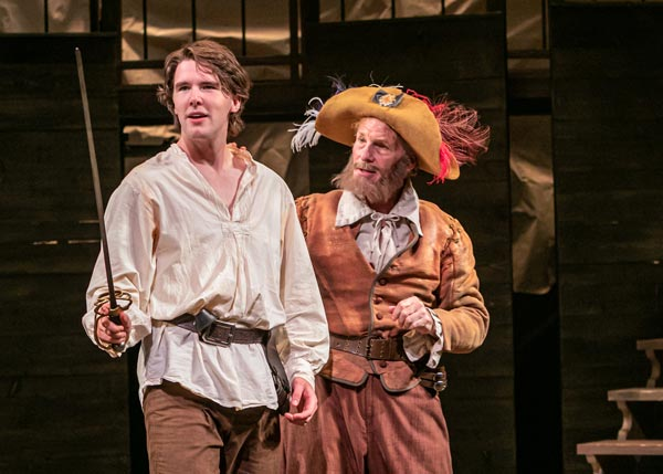 """INSIDE """"The Three Musketeers"""" at Shakespeare Theatre of New Jersey"""