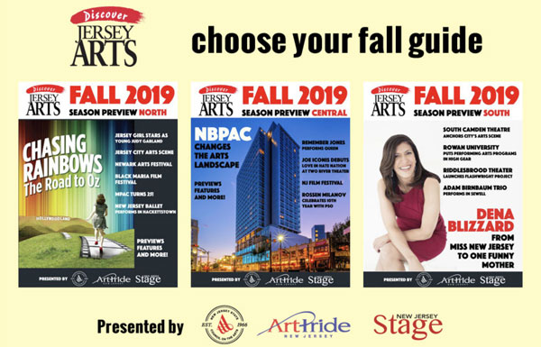 Three Digital Fall Season Preview Guides Help The Arts Come Alive Throughout New Jersey