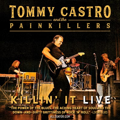 Tommy Castro & The Painkillers To Return To Lizzie Rose Music Room
