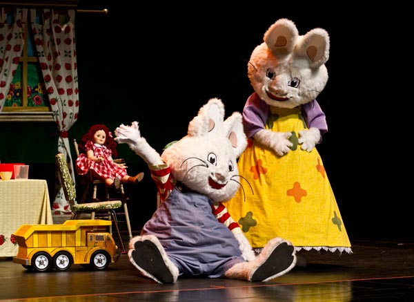 Nick Jr.'s Max and Ruby Hop into UCPAC