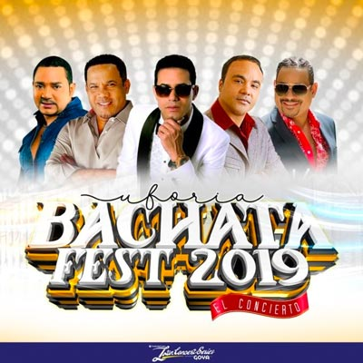 World Famous Bachata Artists To Take The Stage for Uforia Bachata Fest 2019 At Prudential Center on Saturday, March 16