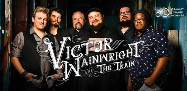 Victor Wainwright and the Train To Perform At Somers Point Beach Concert Series