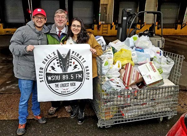 WSOU-FM Collects Record Amount During Annual Food Drive