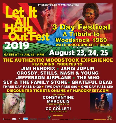 Makin Waves Scene Report with Let It All Hang Out Fest, Carteret Summer Concert Series, Mint 400 Records and more