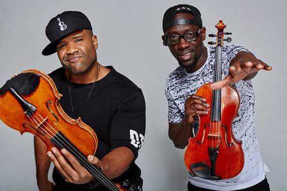Paterson Music Project To Perform with Black Violin