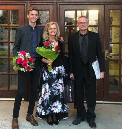 Wharton Institute For The Performing Arts Salon Series Presents The Winnicki Family Trio