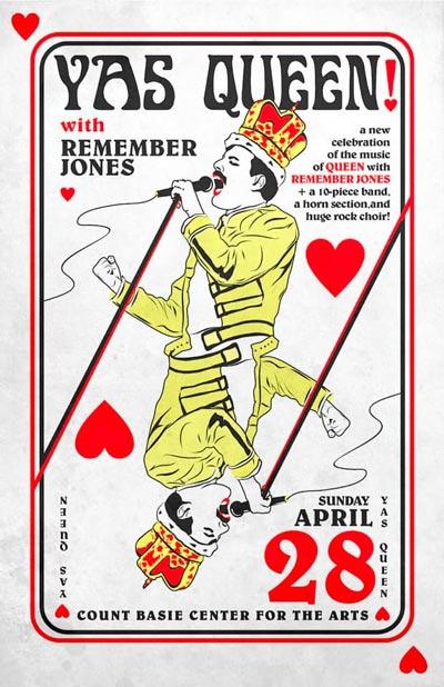 Remember Jones Takes On Freddie Mercury In YAS Queen!