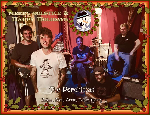 The Porchistas To Host Annual Solstice/Holiday Party