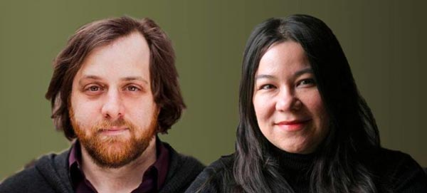 Poetry reading in South Orange with Brenda Shaughnessy and Craig Teicher