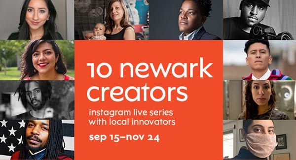 NJPAC Launches New Virtual Series: 10 Newark Creators
