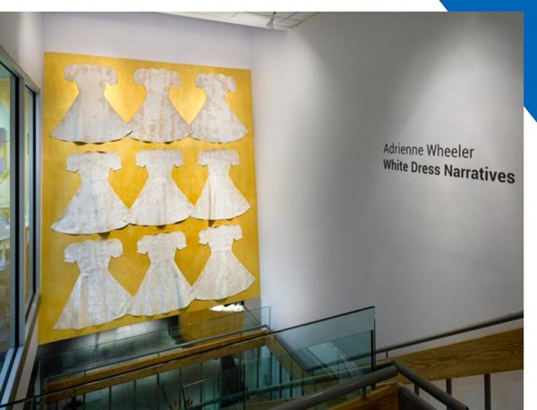 Visual Arts Center Presents Virtual Artist Talk with Adrienne Wheeler