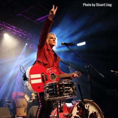 Mike Peters of The Alarm Looks back
