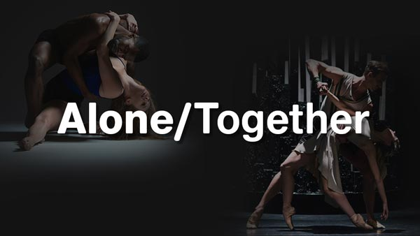 "Carolyn Dorfman Dance and Ballet of National Theater Sarajevo Premiere ""Alone/Together"" A Virtual Collaboration"
