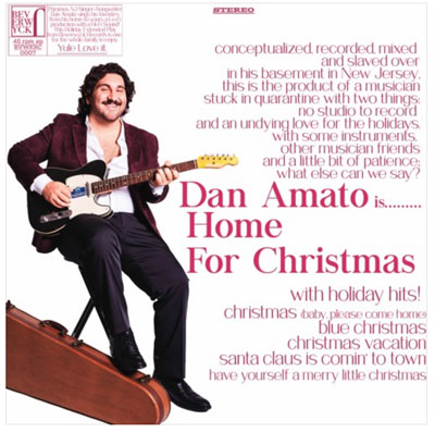 "Dan Amato Releases ""Home For Christmas"""