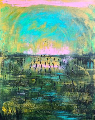 Karen Abada Wins Art House Productions' Online Art Competition