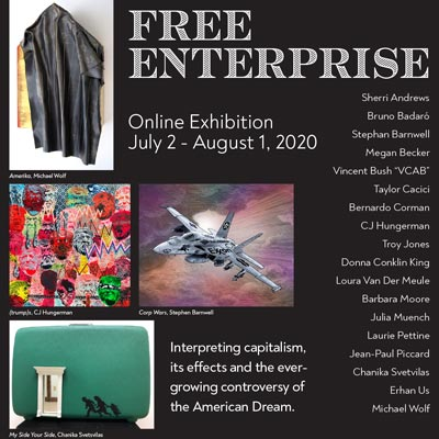 "BSB Gallery Presents Virtual Art Exhibition: ""Free Enterprise"""