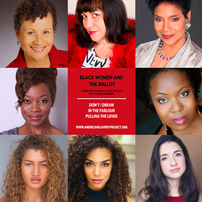 Black Women and the Ballot: 3 Short Radio Dramas Available Now Through Election Day