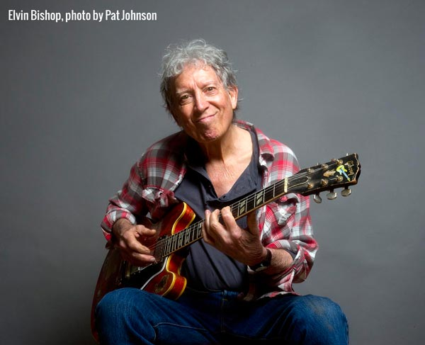Elvin Bishop and Charlie Musselwhite To Perform At MPAC On February 20
