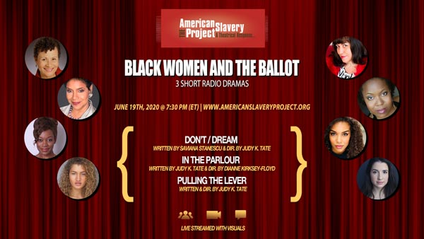 "Crossroads Theatre Company To Present ""Black Women and the Ballot"" online"
