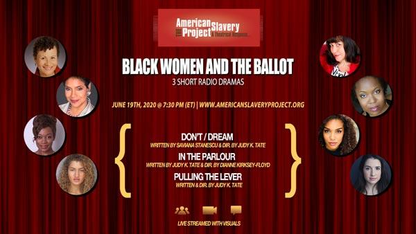 "Crossroads Theatre Company To Present ""Black Women and the Ballot"" online"