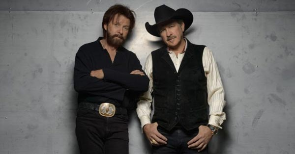 Brooks & Dunn To Perform Shows in Camden and Holmdel