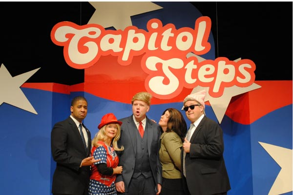 """Just Hysterical!"" Capitol Steps Performs at BergenPAC"