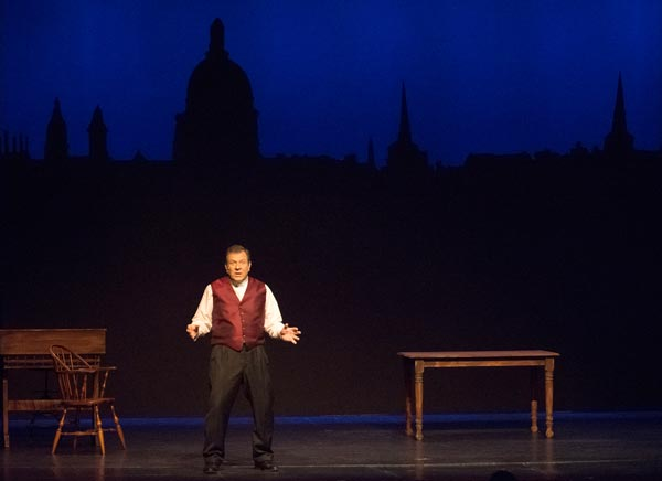 "Experience ""A Christmas Carol"" the Way Dickens Presented It"