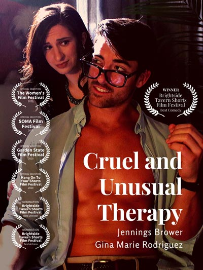 """Cruel and Unusual Therapy,""  A Short PG-Rated ""Sex"" Comedy, to Screen at Garden State Film Festival"