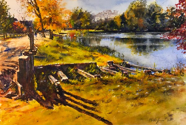 "Garden State Watercolor Society and D&R Greenway Land Trust Present ""Out Of The Wild"" Exhibit"