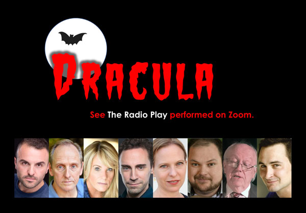 "The Theater Project Presents ""Dracula, The Radio Play"" October 29-31"