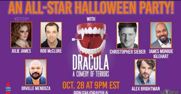 Broadway Podcast Network Presents Dracula, A Comedy of Terrors On October 28th
