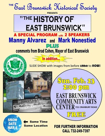 The History of East Brunswick: From 1860 to Now