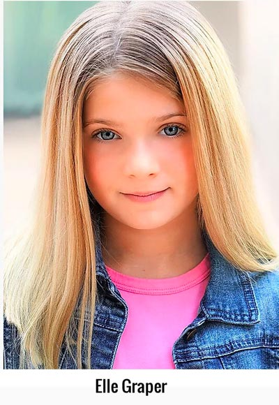 Elle Graper, who plays Matilda in Axelrod's production