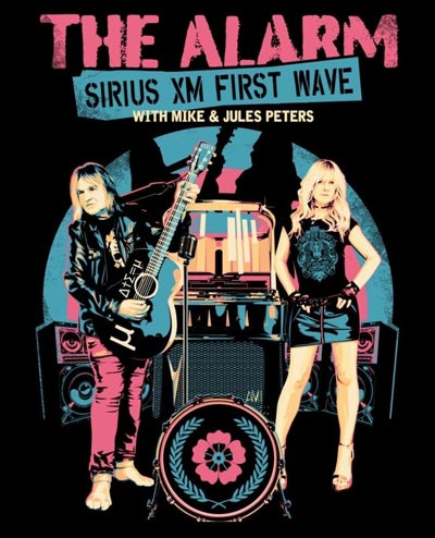 """Mike and Jules Peters From The Alarm To Guest DJ On Sirius XM """"1st Wave"""""""