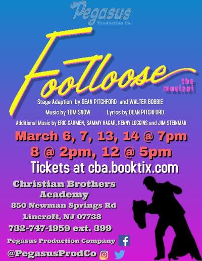 "Pegasus Production Company Presents ""Footloose"""