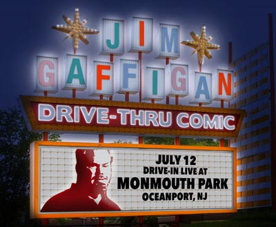 Count Basie Center Presents Jim Gaffigan With Drive-In Concert At Monmouth Park