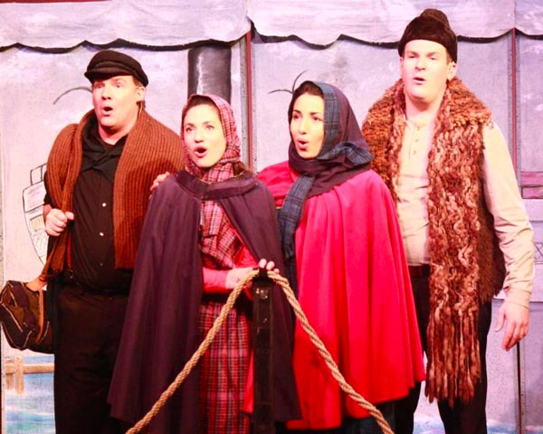 """Pushcart Players Makes """"ELLIS ISLAND: Gateway to America"""" Available To Watch Online For A Limited Time"""