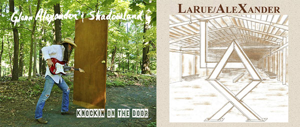 "Makin Waves Record(s) of the Week: ""Knockin' on the Door"" by Glenn Alexander & Shadowland AND ""L.A.X."" by LaRue/AleXander"