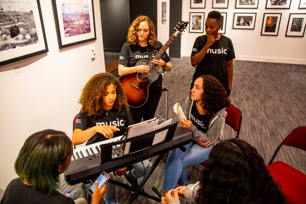 GRAMMY Museum Experience(TM) Prudential Center Launches Fall Session For Music Industry Program