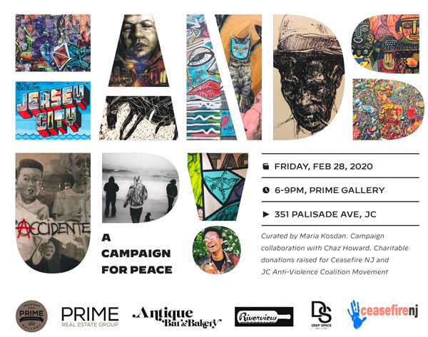 PRIME Gallery Presents HANDS UP (A Campaign for Peace)