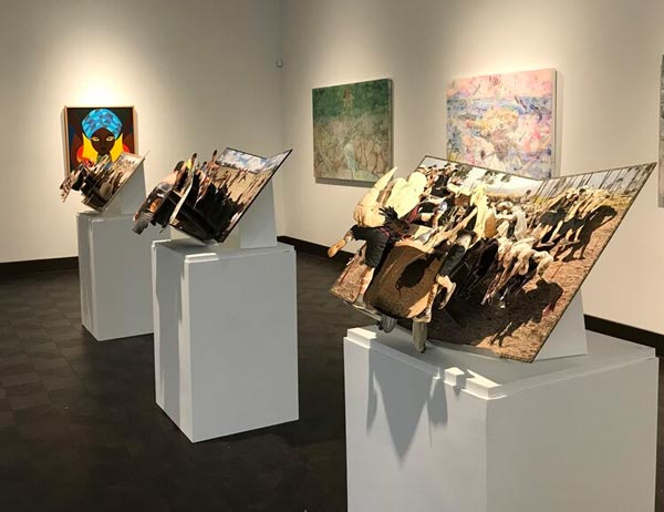 """Tracing Origins"" at Rowan University Art Gallery"