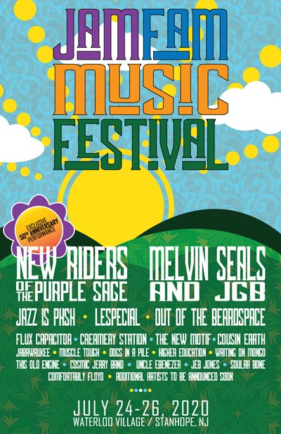 JamFam Music & Arts Festival Announces Initial Line-up For Inaugural Festival