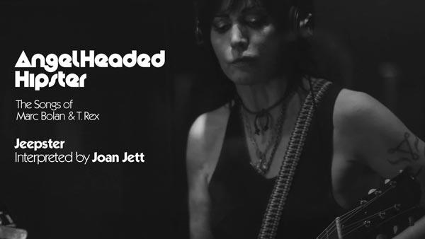"Joan Jett Reimagines Marc Bolan Classic ""Jeepster"" For Tribute Album"