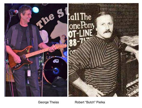 Butch Pielka, George Theiss, Al Muzer, and Cuba